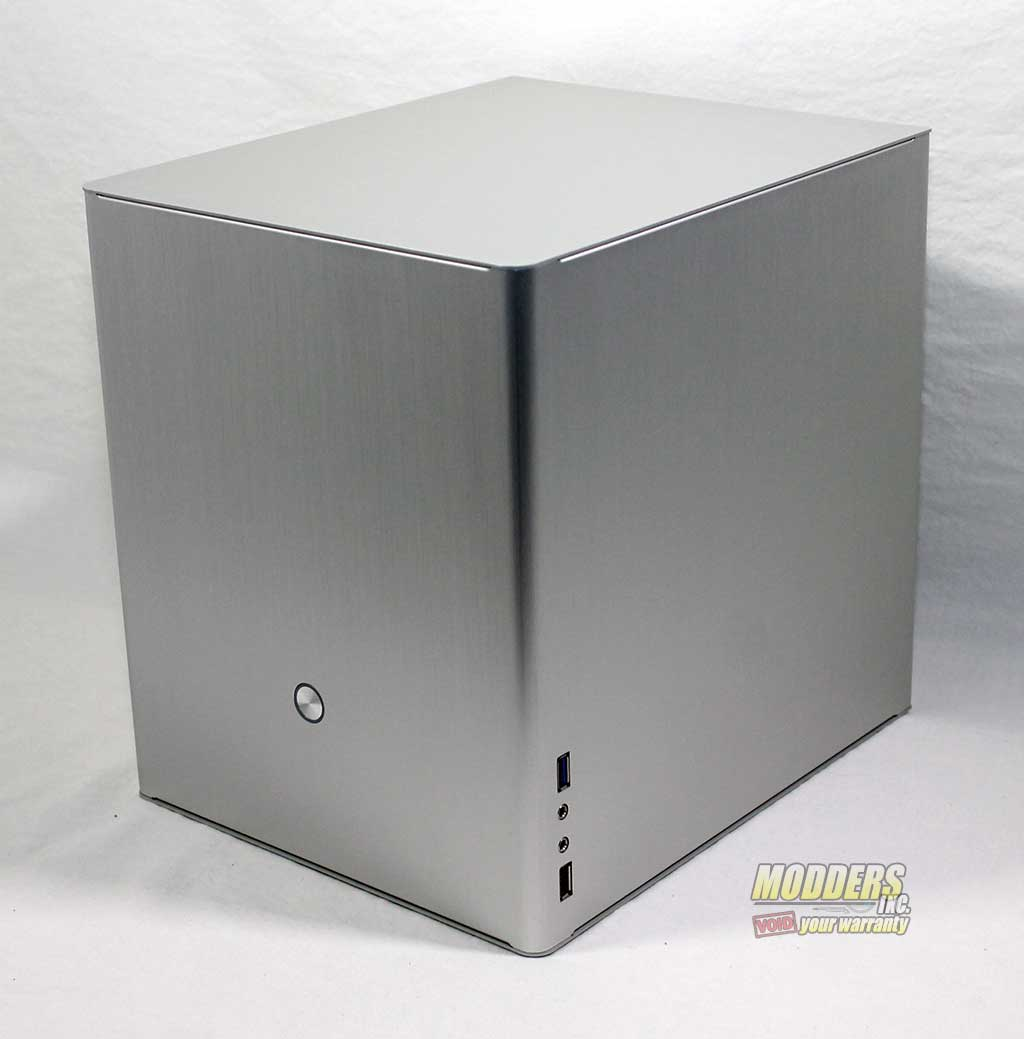 Rosewill Legacy V4-S Silver Aluminum Alloy Mini-ITX Cube Computer Case
