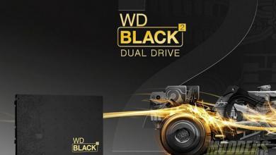 Western Digital WD Black² 2.5-inch Dual Drive (SSD + HDD) Hybrid 2.5 inch Hybrid Drive, SSD, WD, Western Digital