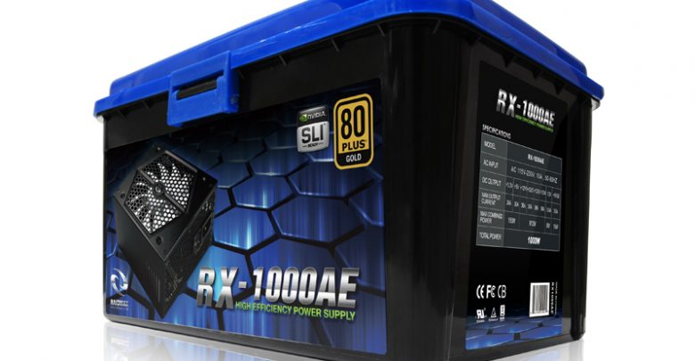 Photo of RAIDMAX Thunder Pro Series RX-1000AE 80 Plus Gold PSU Overview