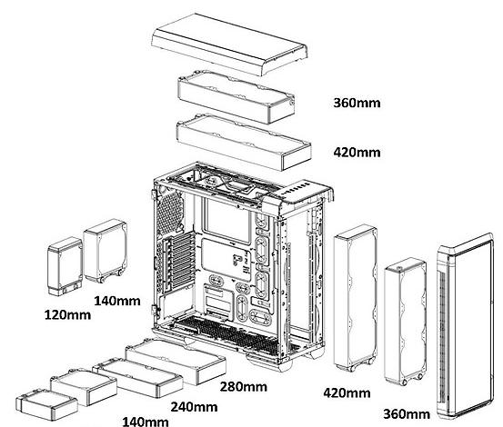 Photo of Thermaltake Urban T81 Full Tower Case Opens The Doors To Ultra Water Cooling