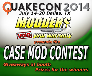 Photo of 2014 QuakeCon Case Mod Contest Annoumcement Video
