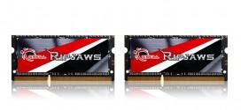 G.SKILL Announces High Performance DDR3L  SO-DIMM 2133MHz 16GB (2x8GB) 1.35V Memory Kit