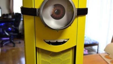 Photo of Despicable Me Minions Computer Case Mod