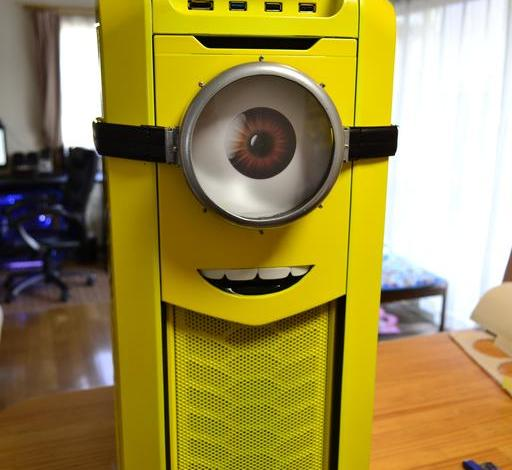 Photo of Despicable Me Minions Computer Case Mod
