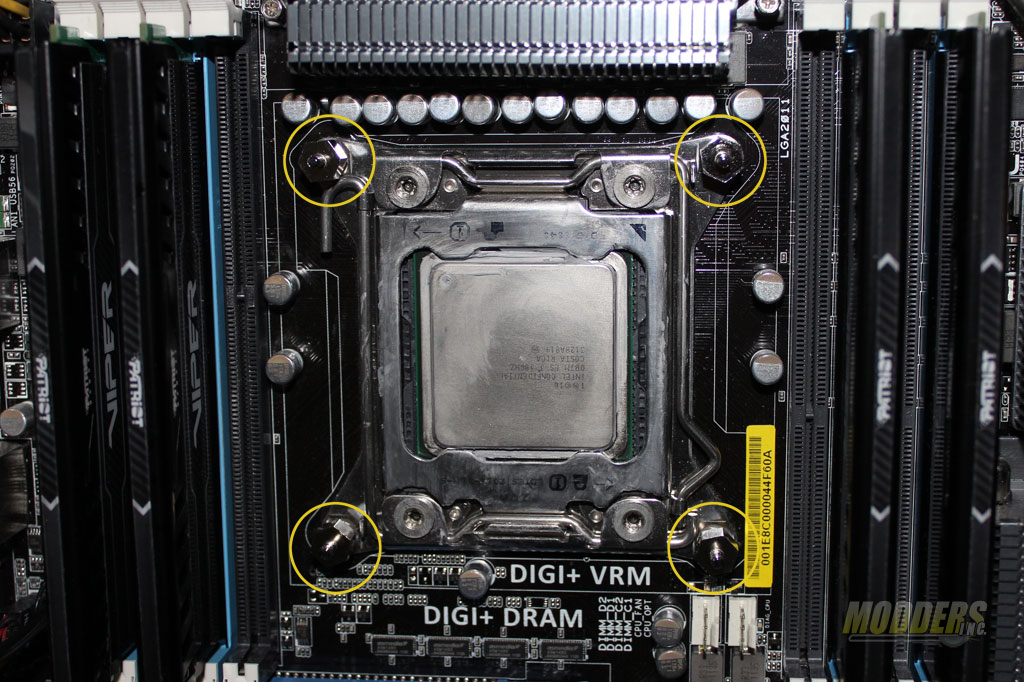 Noctua Intel LGA2011 Installation