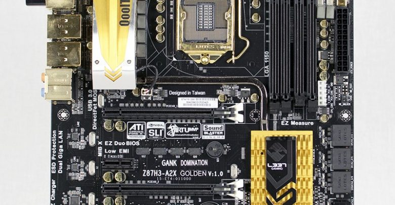 Photo of ECS Z87H3-A2X Golden Motherboard Review