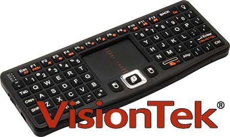 Photo of VisionTek CandyBoard Mini Wing Keyboard Review