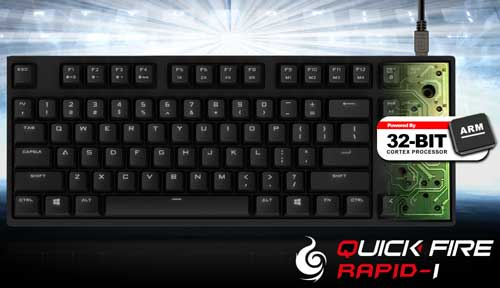 Photo of Cooler Master Announces QuickFire Rapid-i Keyboard