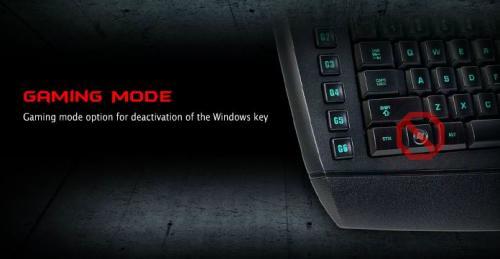 Gaming Mode wondows lock