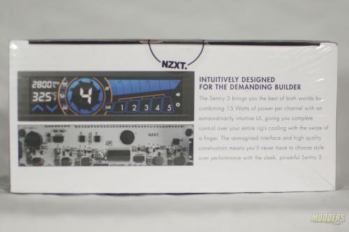 NZXT Sentry 3 Touch Screen Fan Controller Review NZXT Sentry 3 box back