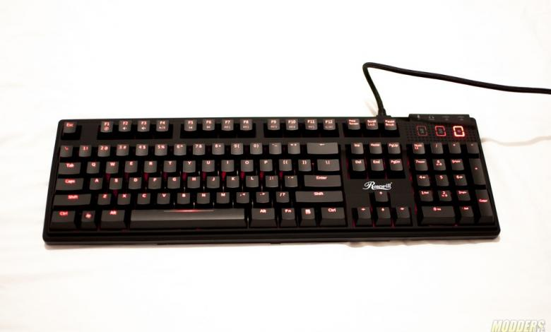 Photo of Rosewill Apollo RK-9100xRBR Illuminated Mechanical Gaming Keyboard Review