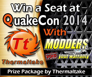 Photo of Modders-Inc / Thermaltake QuakeCon BYOC Seat Giveaway