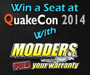 Win a seat at QuakeCon