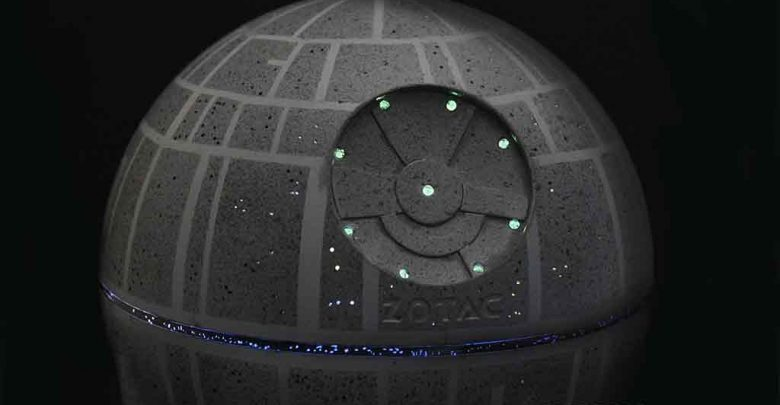 Photo of Zotac ZBOX Sphere OI520 Death Star Case Mod