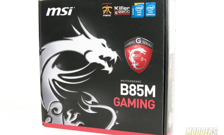 Photo of MSI B85M Gaming Motherboard Review