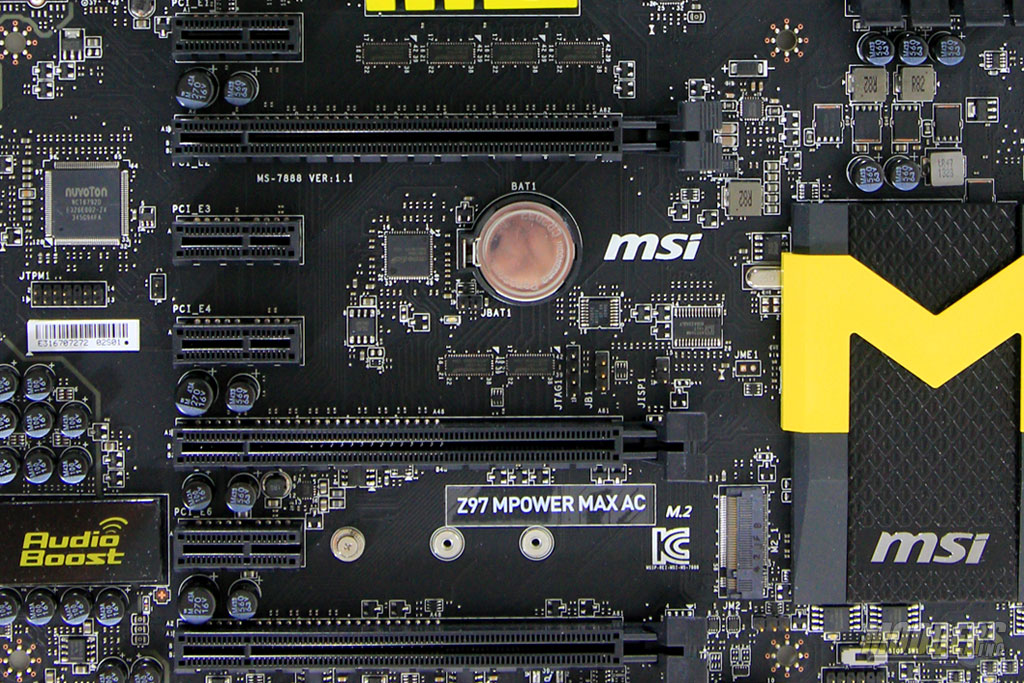 Expansion Slots and M.2 Port