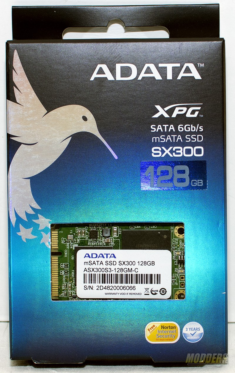 ADATA XPG SX300 SATA 6Gb/s mSATA SSD Review — Page 2 of 5