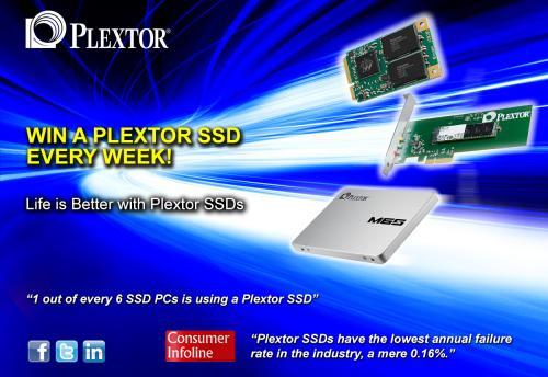 Plextor ssd giveaway