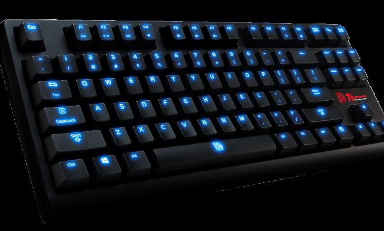 Photo of Tt eSPORTS POSEIDON ZX mechanical gaming keyboard