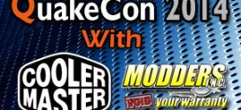 Modders-Inc / Cooler Master QuakeCon 2014 BYOC Seat Giveaway