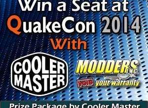 Photo of Modders-Inc / Cooler Master QuakeCon 2014 BYOC Seat Giveaway