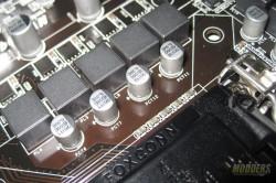 Biostar Hi-Fi Z97WE Chokes and output Capacitors