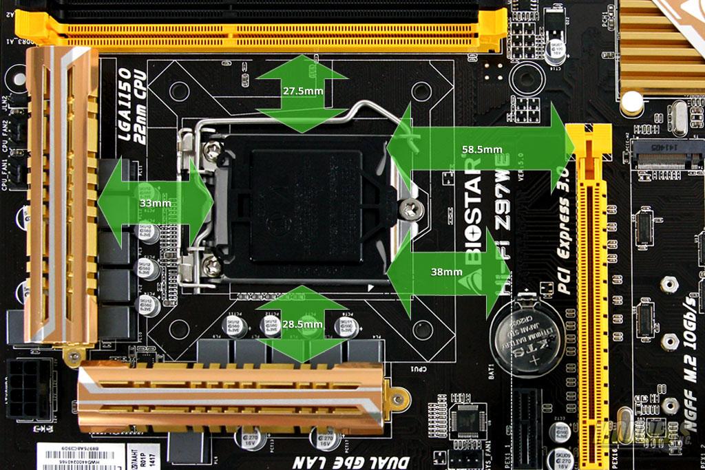 Biostar Hi-Fi Z97WE Clearance