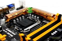 Biostar Hi-Fi Z97WE VRM heatsink Height Clearance