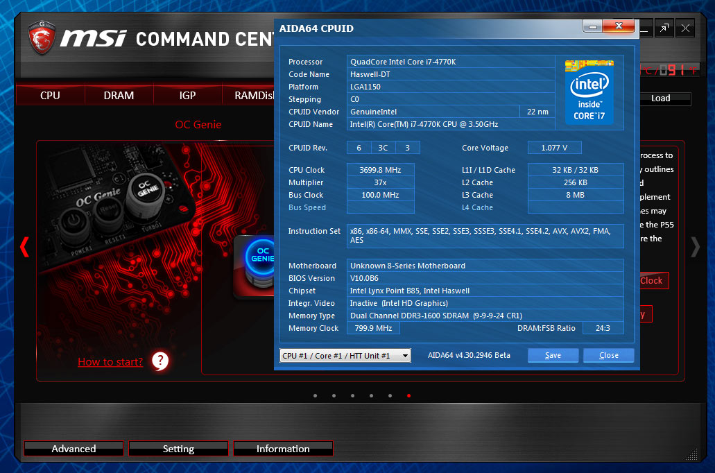 MSI B85M Gaming Motherboard Review — Page 3 of 8 — Modders-Inc