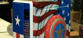 Captain America Case Mod at QuakeCon 2014