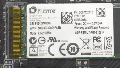 Plextor PX-G256M6e 256 GB M.2 SSD Review SATA