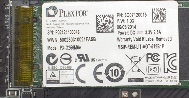 Photo of Plextor PX-G256M6e 256 GB M.2 SSD Review
