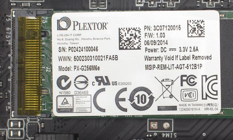 Photo of Plextor PX-G256M6e 256 GB M.2 SSD Review
