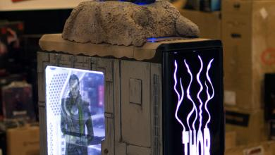 Photo of THOR Case Mod at QuakeCon 2014