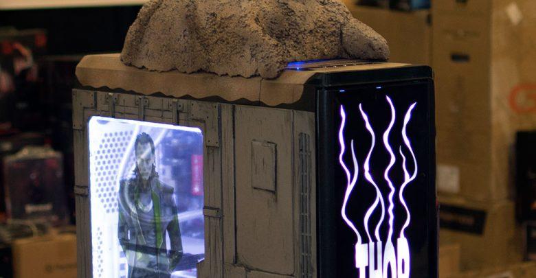 Photo of THOR Case Mod at QuakeCon 2014