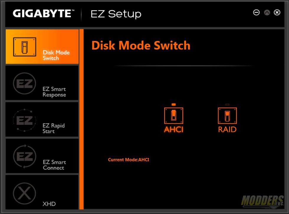 EZ Setup - Disk Mode