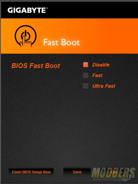 Fast Boot