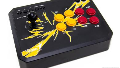 Photo of Genius F-1000 Gaming Arcade Stick Review