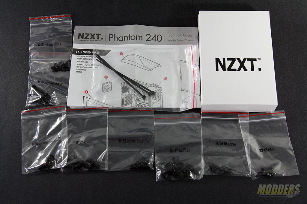 NZXT Phantom 240 Accessories