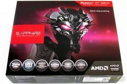 Sapphire R7 260X 100366-3L Front Box