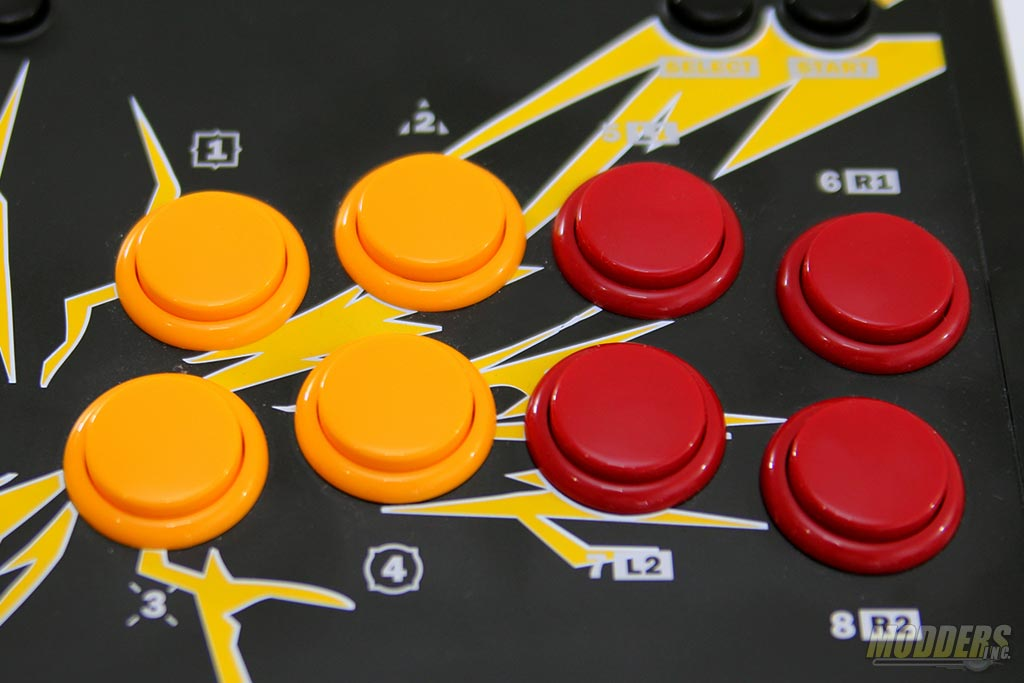 8-button with a SEGA Astro City cabinet layout
