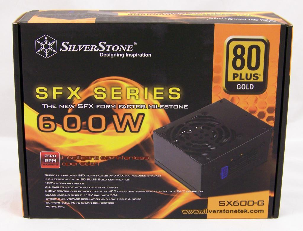 HARDOCP - SilverStone SFX SX600-G - SilverStone SFX SX600-G 600W Power Supply Review