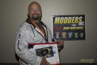 Winners of the Modders-Inc Hardware Raffle at QuakeCon 2014 quakecon 2014 26