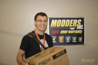 Winners of the Modders-Inc Hardware Raffle at QuakeCon 2014 quakecon 2014 15
