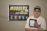 Winners of the Modders-Inc Hardware Raffle at QuakeCon 2014 quakecon 2014 19
