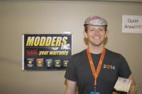 Winners of the Modders-Inc Hardware Raffle at QuakeCon 2014 quakecon 2014 4