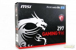 MSI Gaming 9 AC Box Front