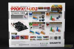 Gigabyte GA-990FXA-UD3 Rev 4.0 Box Rear