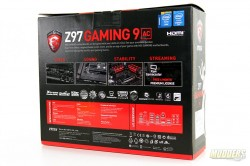 MSI Gaming 9 AC Box Rear