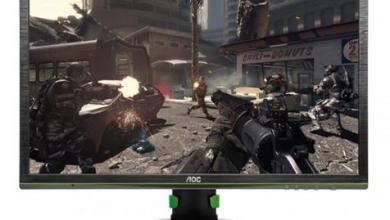 Photo of New AOC 24 inch Gaming Monitor with NVIDIA G-SYNC